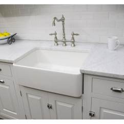 Country Kitchen Sink Ninja Shop Fine Fixtures Fireclay Sutton 23 25 Inch White Farmhouse Free Shipping Today Overstock Com 6467220