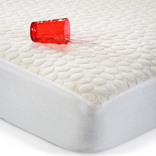 Pebbletex Organic Cotton Waterproof King Size Mattress Protector Free Shipping Today 14115784