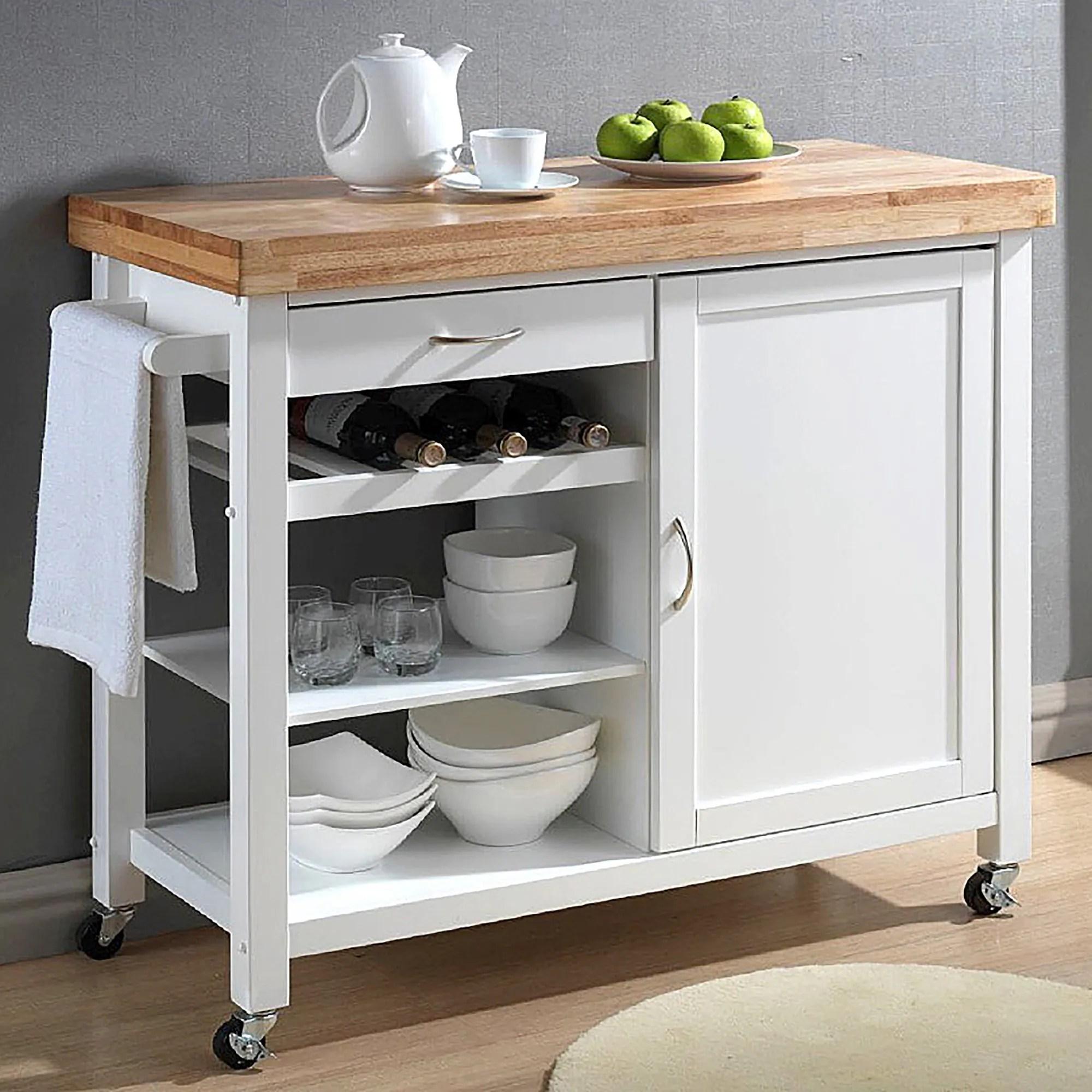 modern kitchen cart trailer shop denver white free shipping today