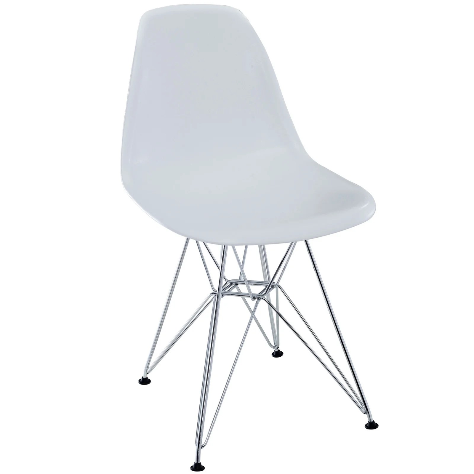 white plastic dining chairs accent to go with leather sofa shop chair wire base free shipping today overstock com 6673577
