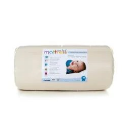 My First Memory Foam Baby Crib Mattress With Soft Waterproof Cover Infant Toddler White Free Shipping Today 14354952