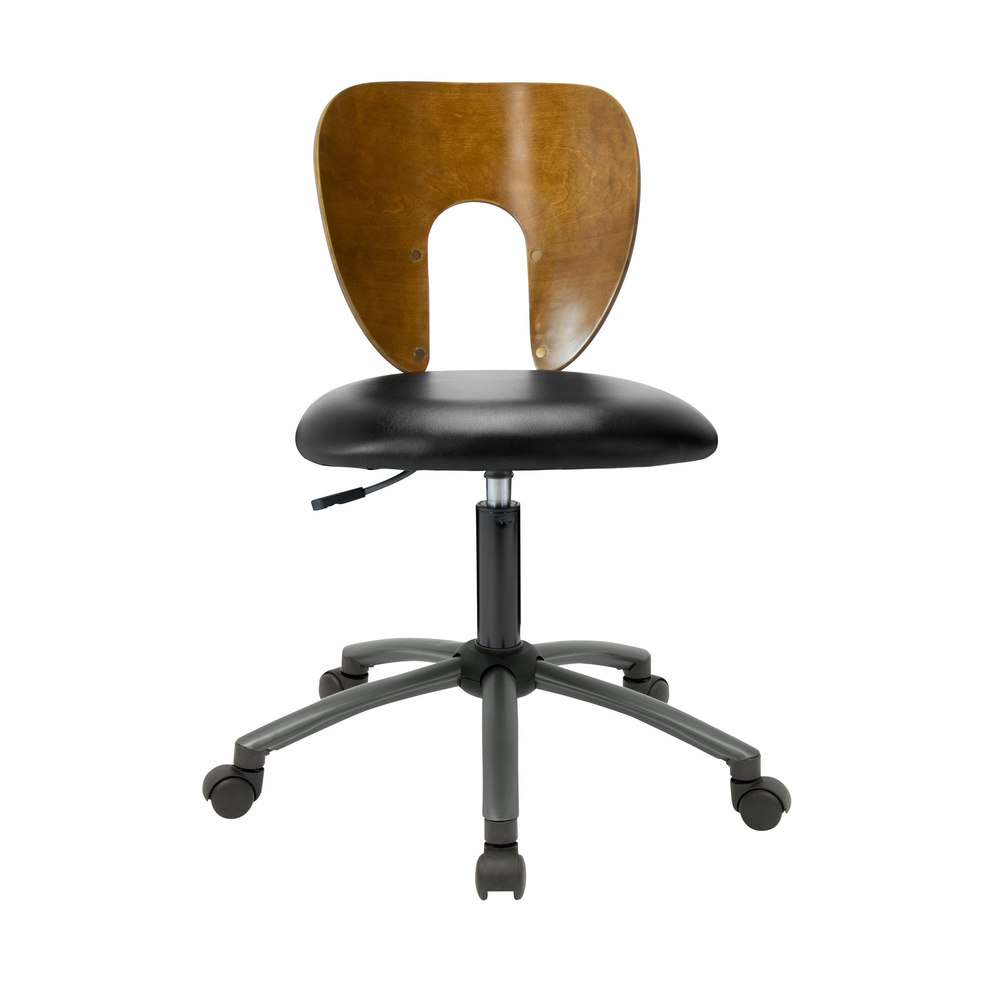pewter chair good place to buy office chairs shop studio designs brown wood metal plastic ponderosa sonoma
