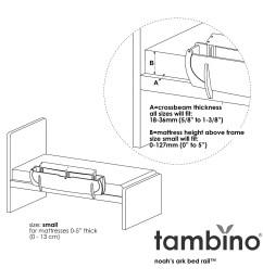 shop tambino noah s ark bed rail free shipping today overstock 7302709 [ 1250 x 1250 Pixel ]