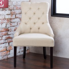 Accent Dining Chairs Pollock Executive Chair Replica Shop Furniture Of America Bielson Tufted Ivory Set 2 24 W X 27 D 39 1 H Seat Ht 21 Dp