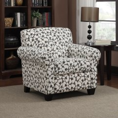 Floral Arm Chair Discount Office Shop Handy Living Mira Gray Modern And Ottoman On Sale Free Shipping Today Overstock Com 8025149