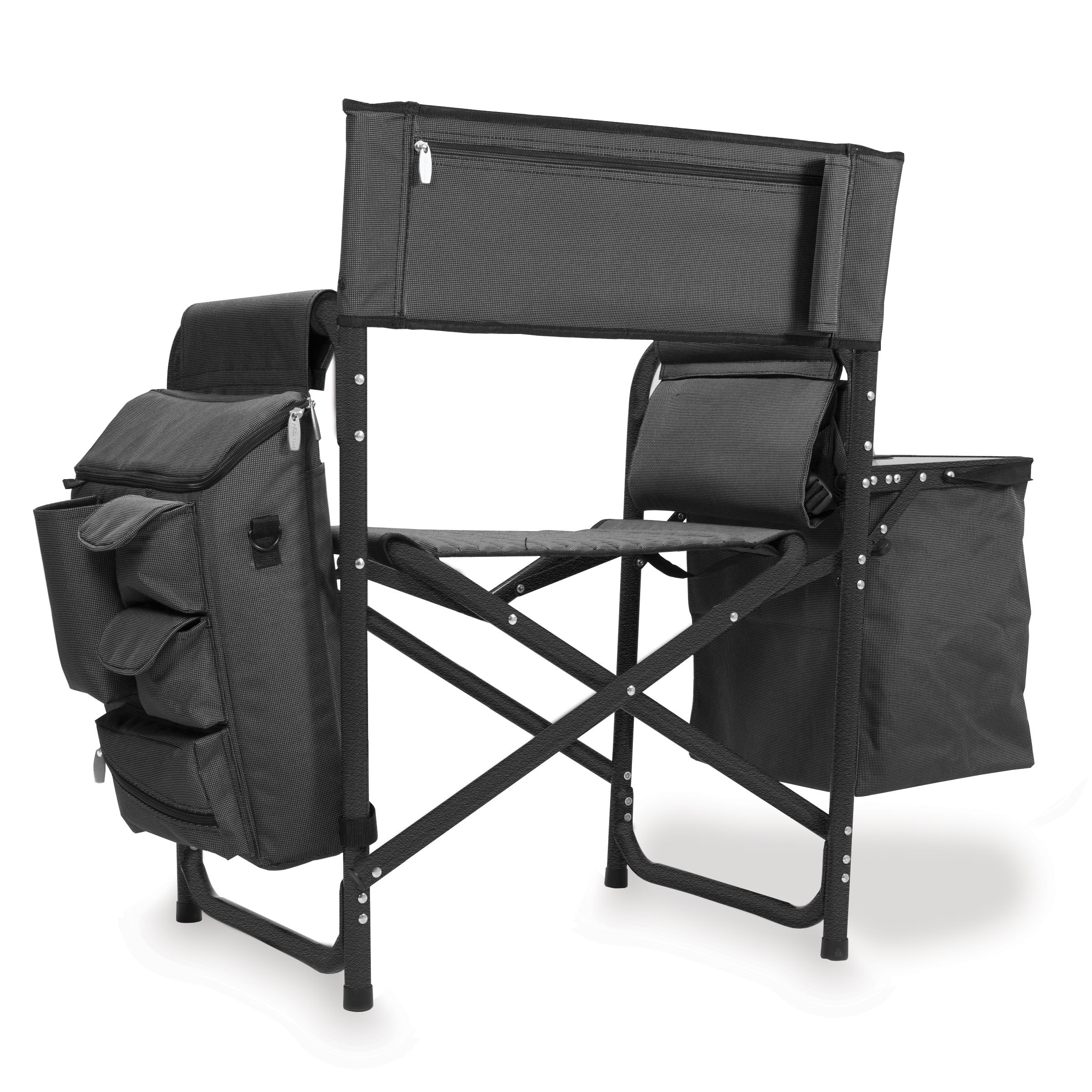 Collapsible Chair Picnic Time Fusion Collapsible Storage Chair