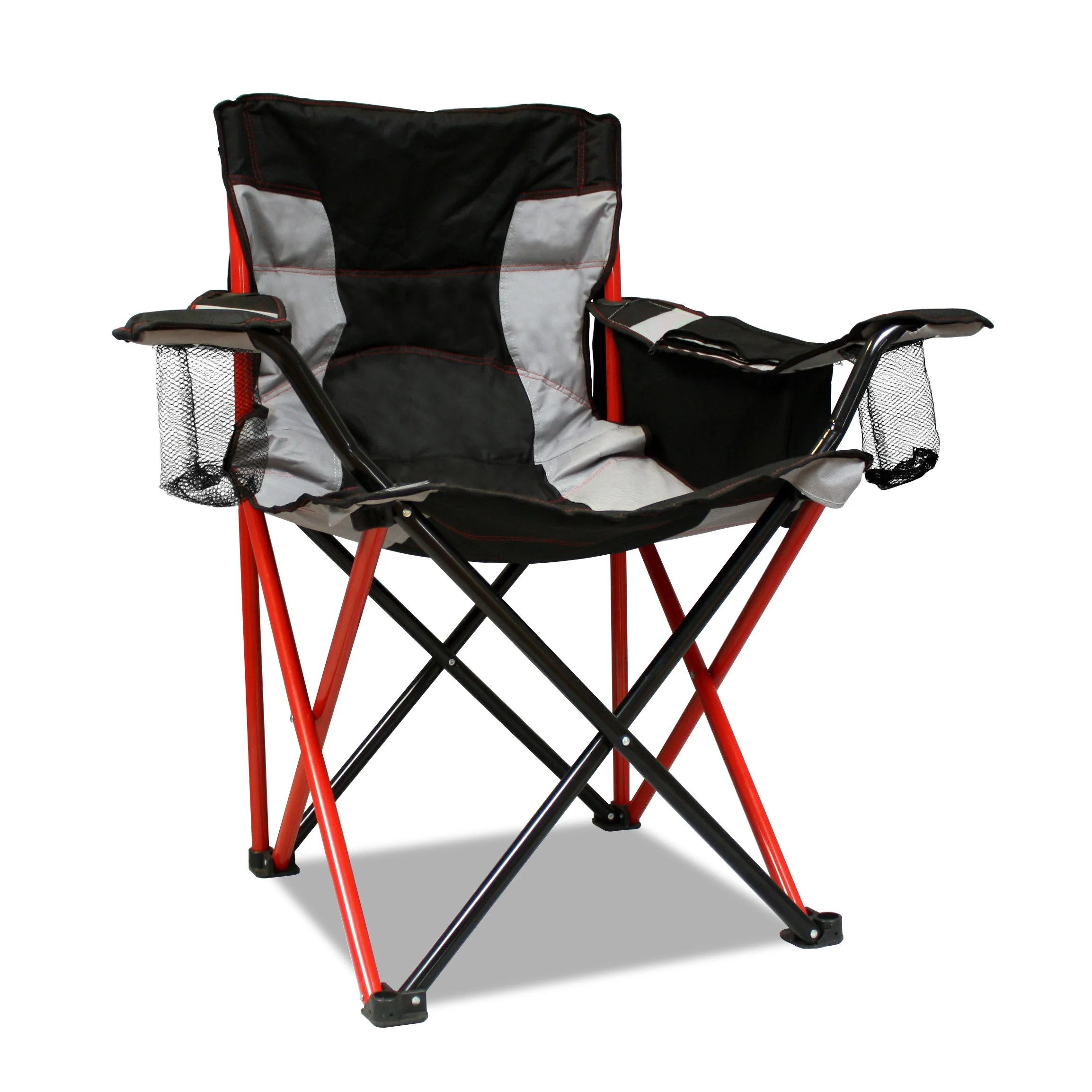Camping Chair With Canopy Caravan Sports Elite Quad Red Camping Chair