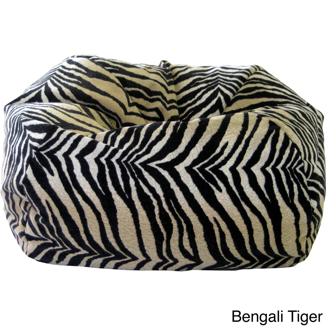 cheetah print bean bag chair hanging chairs without stand shop xxl safari micro fiber suede animal on sale free shipping today overstock com 8176879