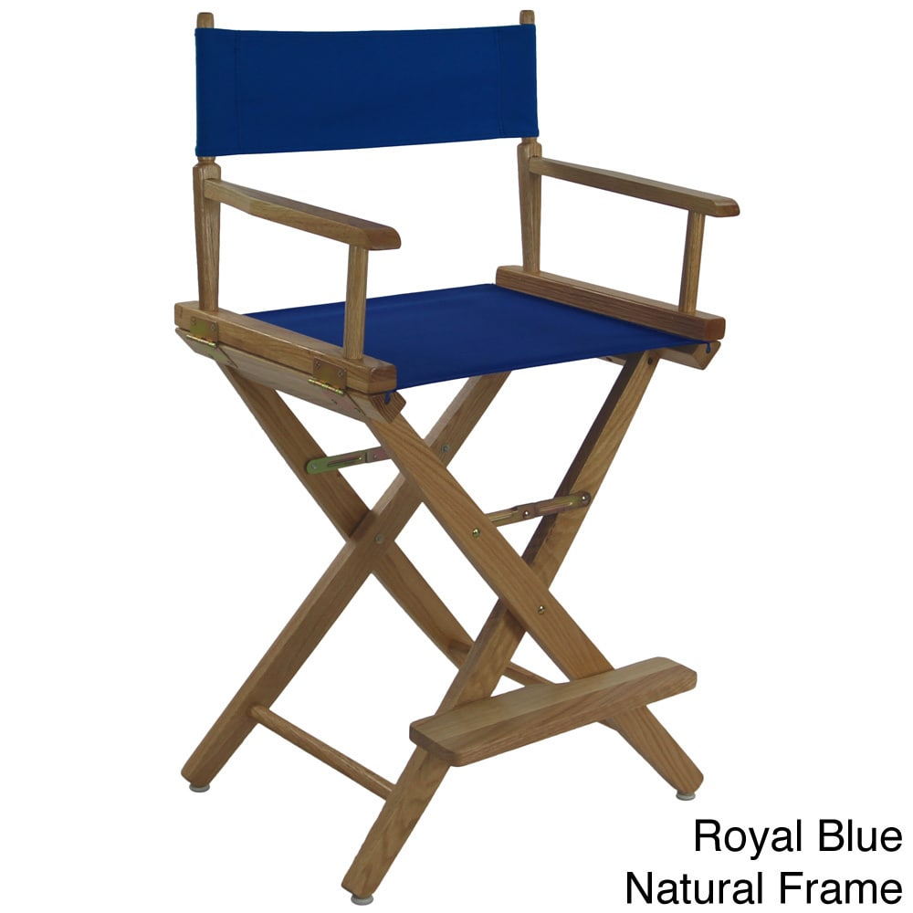 24 inch high folding chairs revolving chair manufacturers in bangalore shop american trails extra wide premium counter director s free shipping today overstock com 8372775