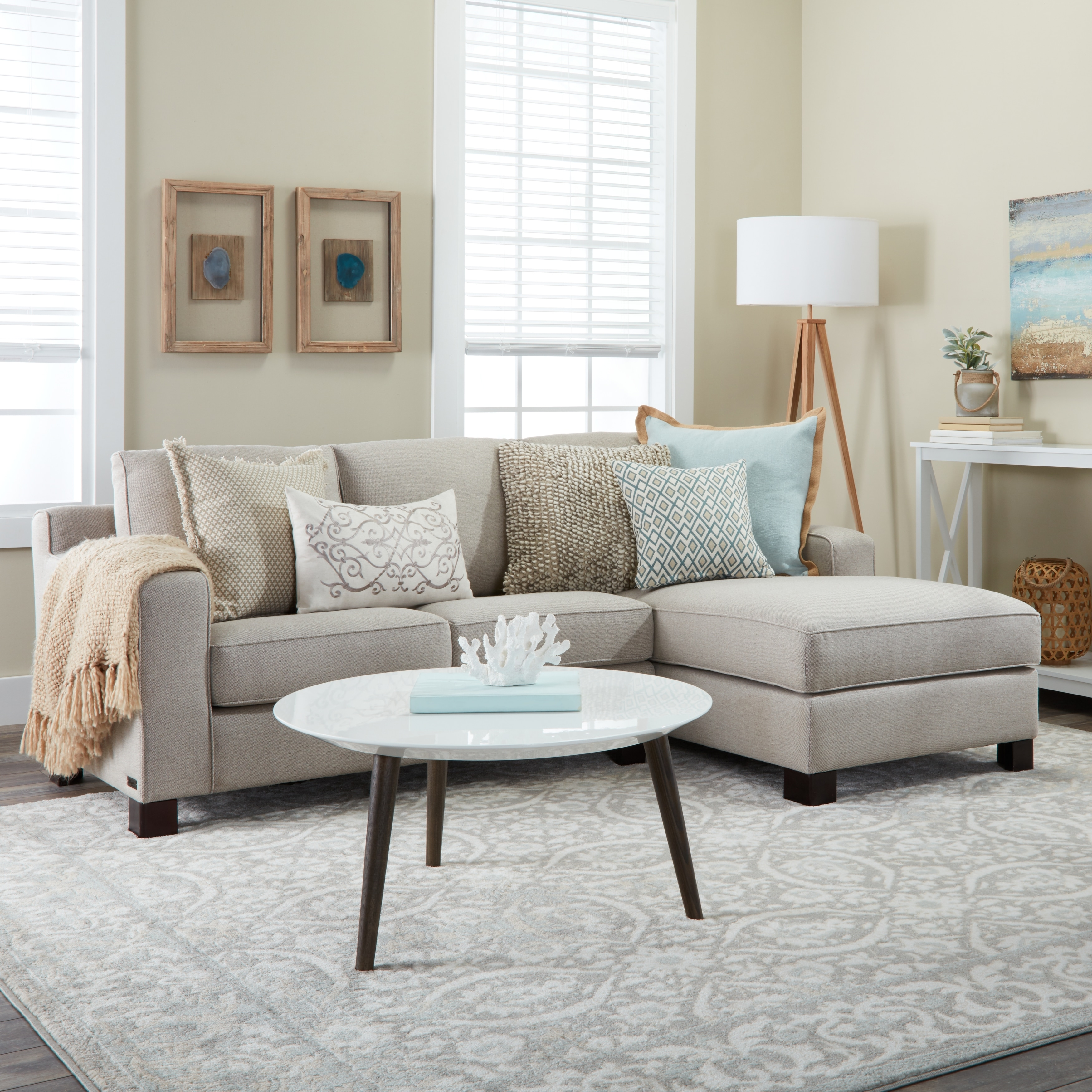 sofa w chaise sofas for under 100 shop sectional with in light grey on sale ships to canada overstock ca 8654679
