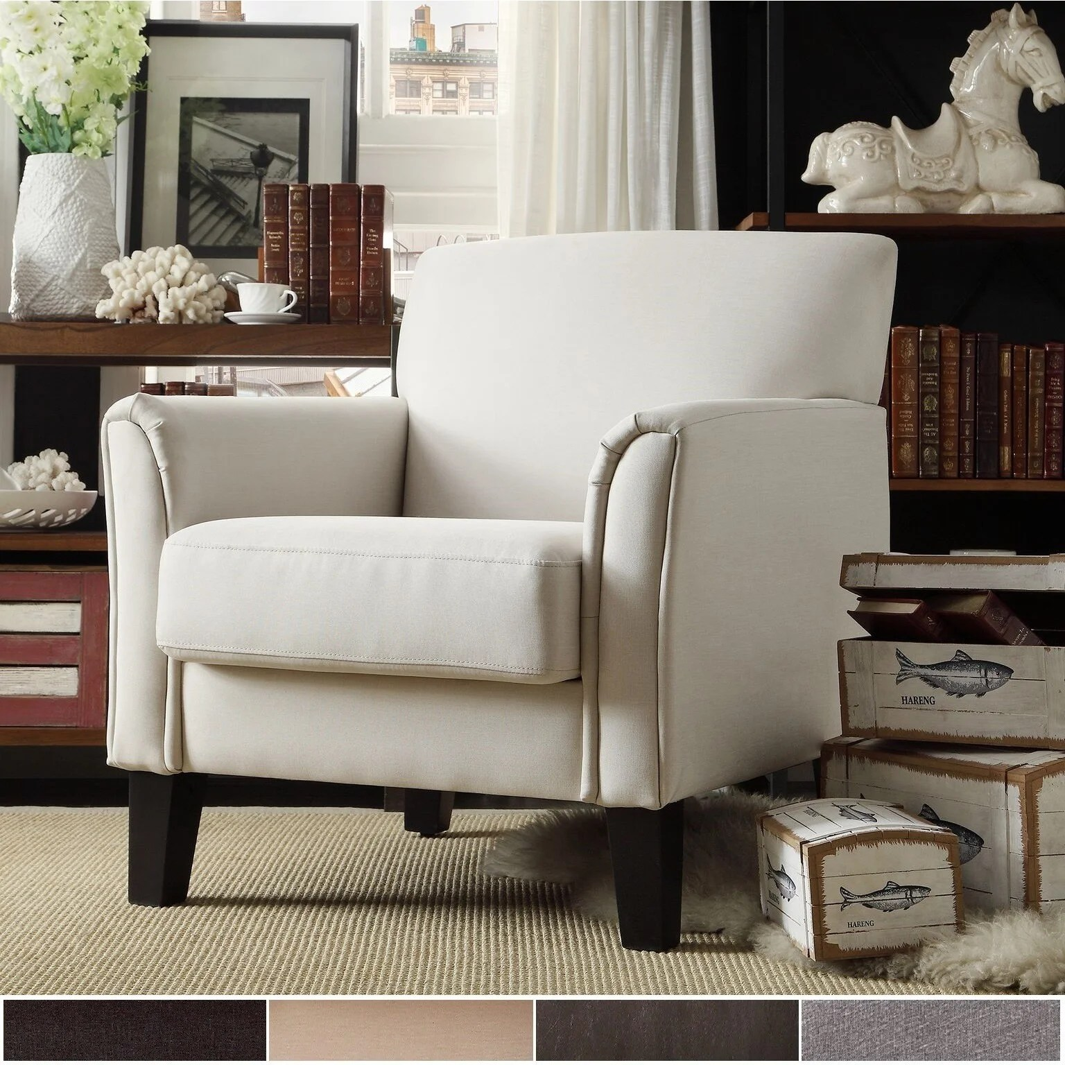 modern accent chairs chicco high chair polly shop uptown by inspire q classic free shipping