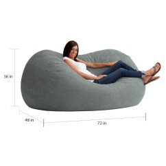 Xl Bean Bag Chair Informa Shop Big Joe Fuf Free Shipping Today Overstock Com 8847096
