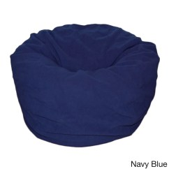 Blue Bean Bag Chairs Ergonomic Office For Sale Shop Anti Pill 36 Inch Wide Fleece Washable Chair Free