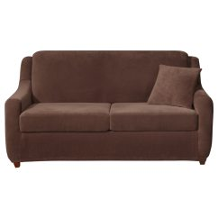 Sure Fit Stretch Pearson 3 Pc Sleeper Sofa Slipcover Full Versace Via Gesu Price Shop Piece Free Shipping Today Overstock Com 9129294