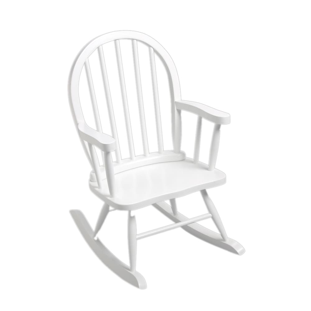 Kids Rocking Chairs Gift Mark Windsor Home Children S White Rocking Chair