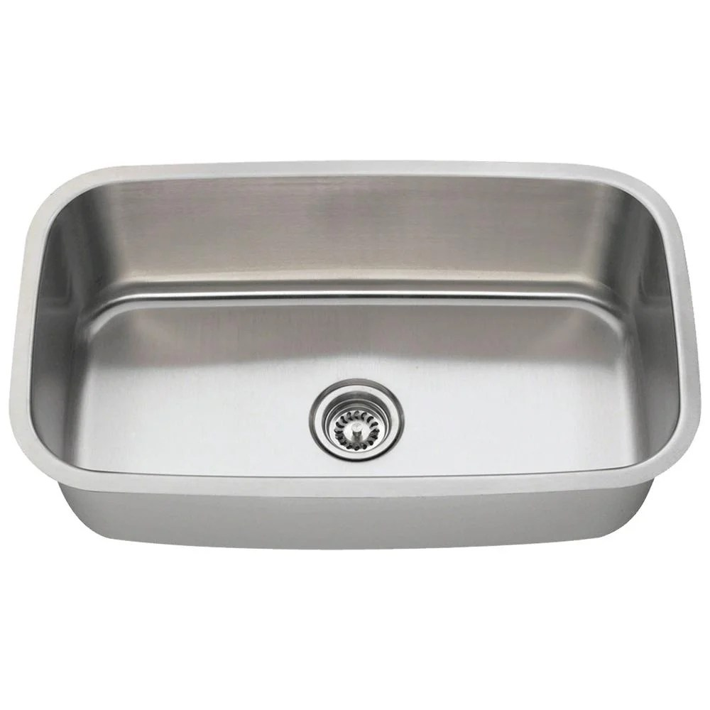 single bowl stainless kitchen sink 36 inch cabinet shop 3118 steel free shipping