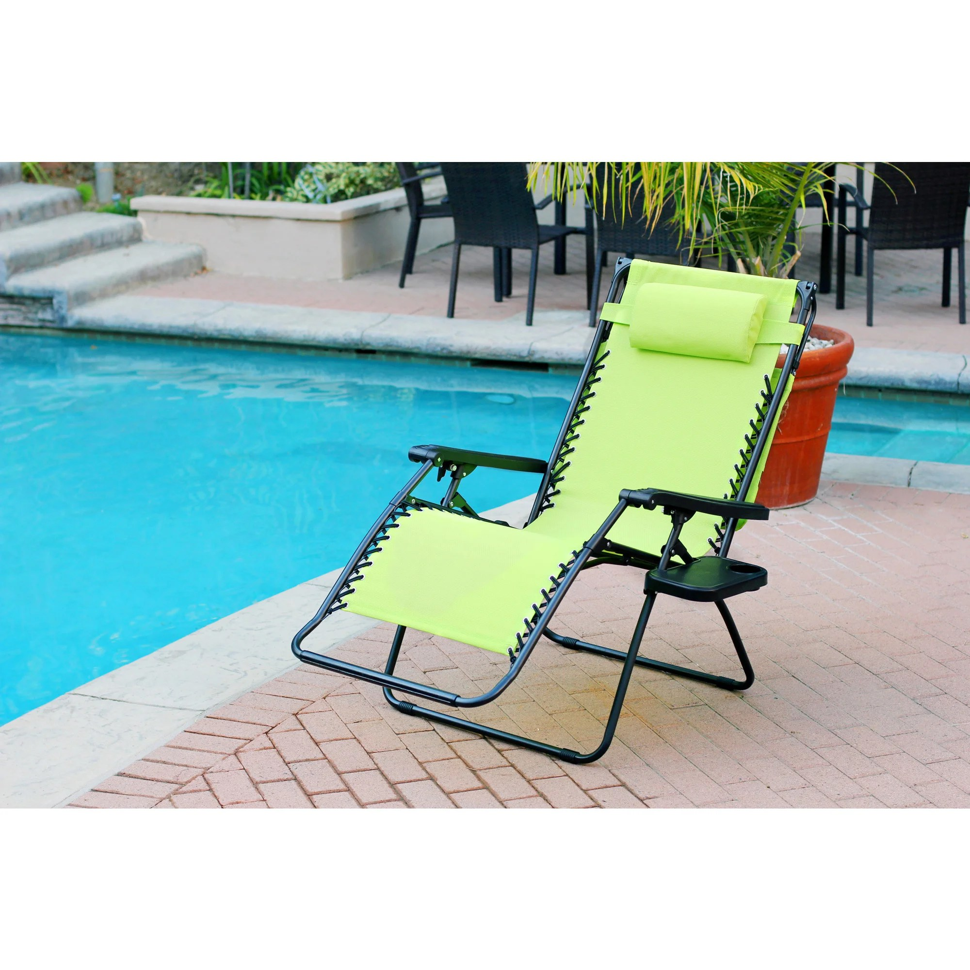 Oversized Zero Gravity Chair Havenside Home Garden City Oversized Zero Gravity Chair With Sunshade And Drink Tray