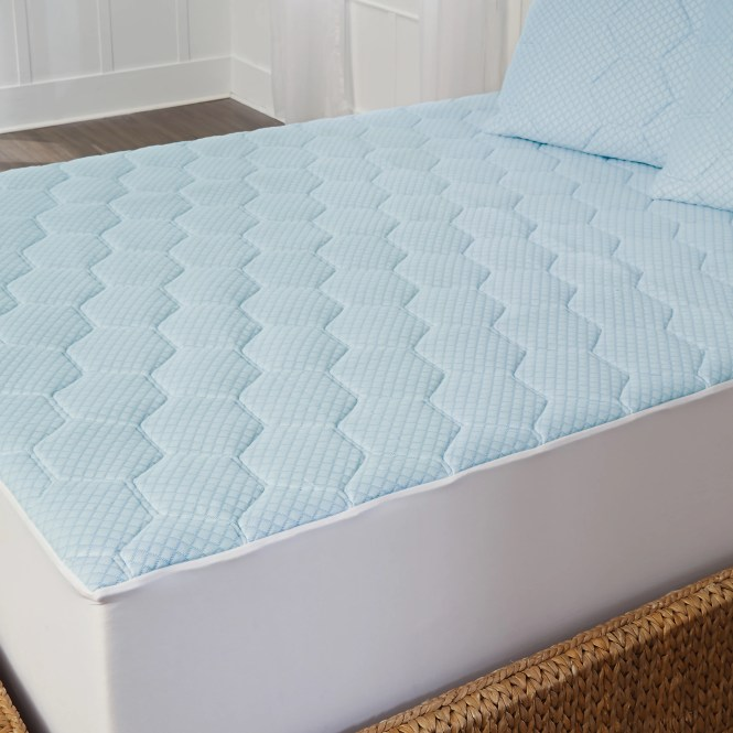 Arctic Sleep Cooling 1 Inch Gel Memory Foam Mattress Pad Free Shipping Today 16743749