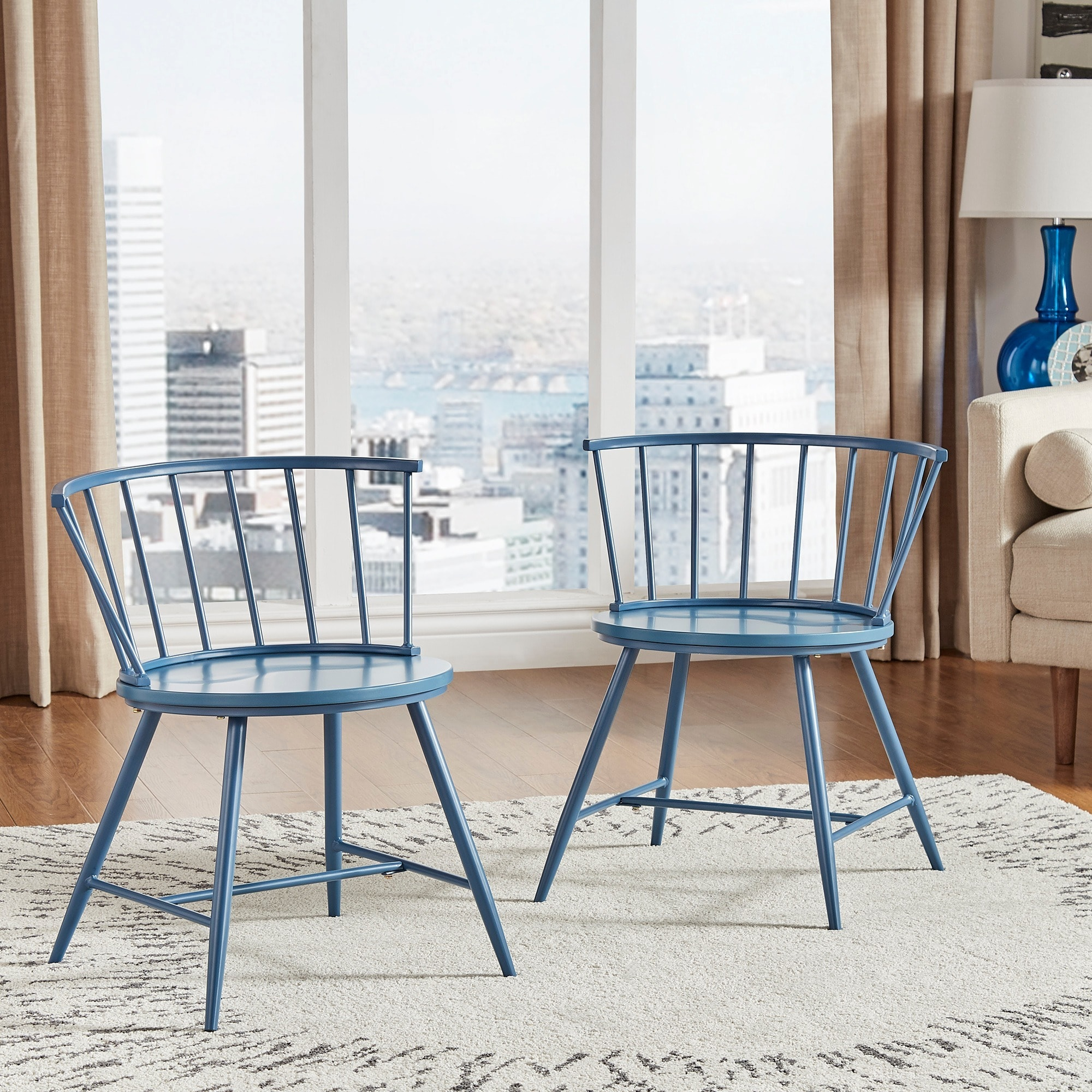 Dining Chair Set Of 2 Truman Low Back Windsor Dining Chair Set Of 2 By Inspire Q Modern