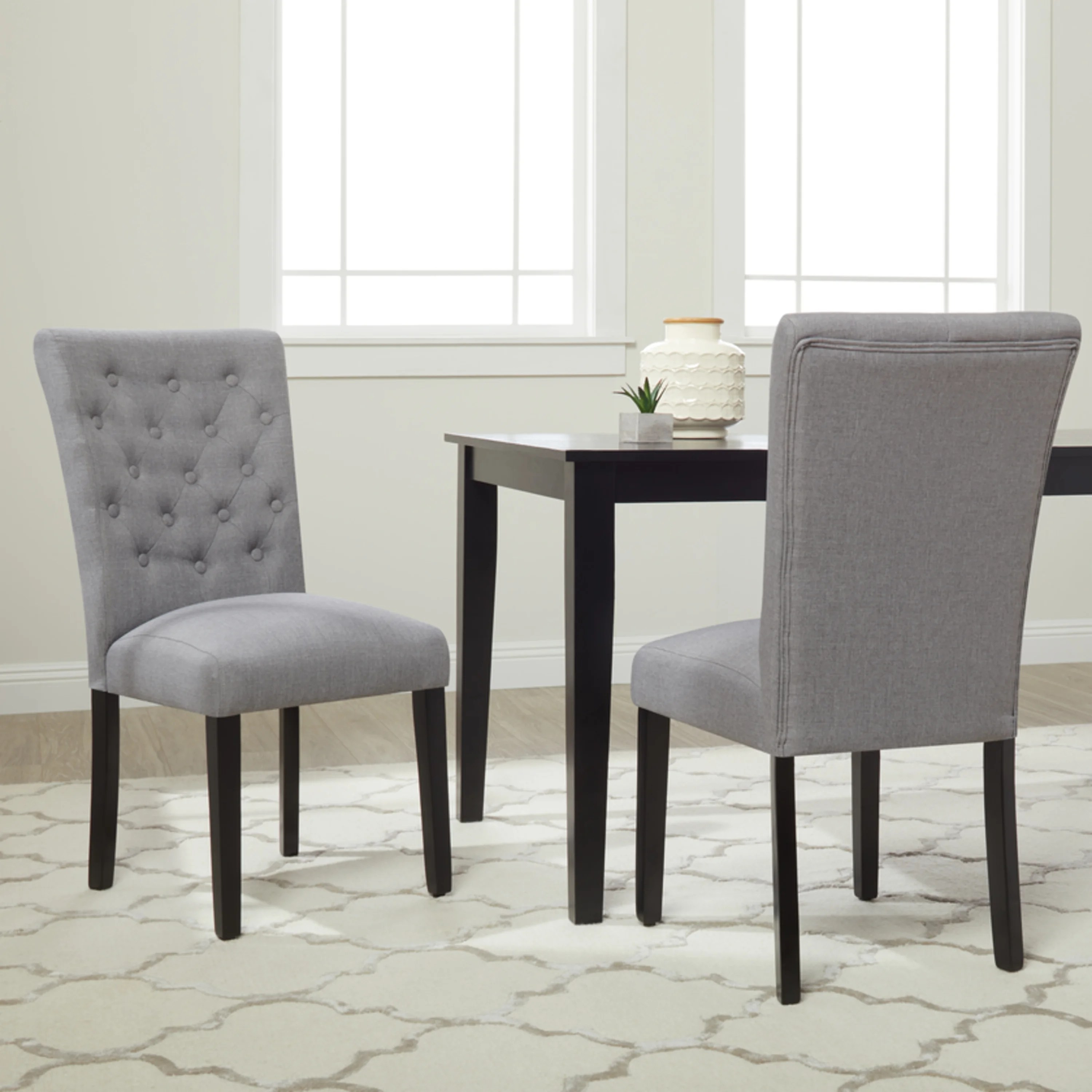 Dining Chair Set Of 2 Monsoon Sopri Upholstered Dining Chairs Set Of 2