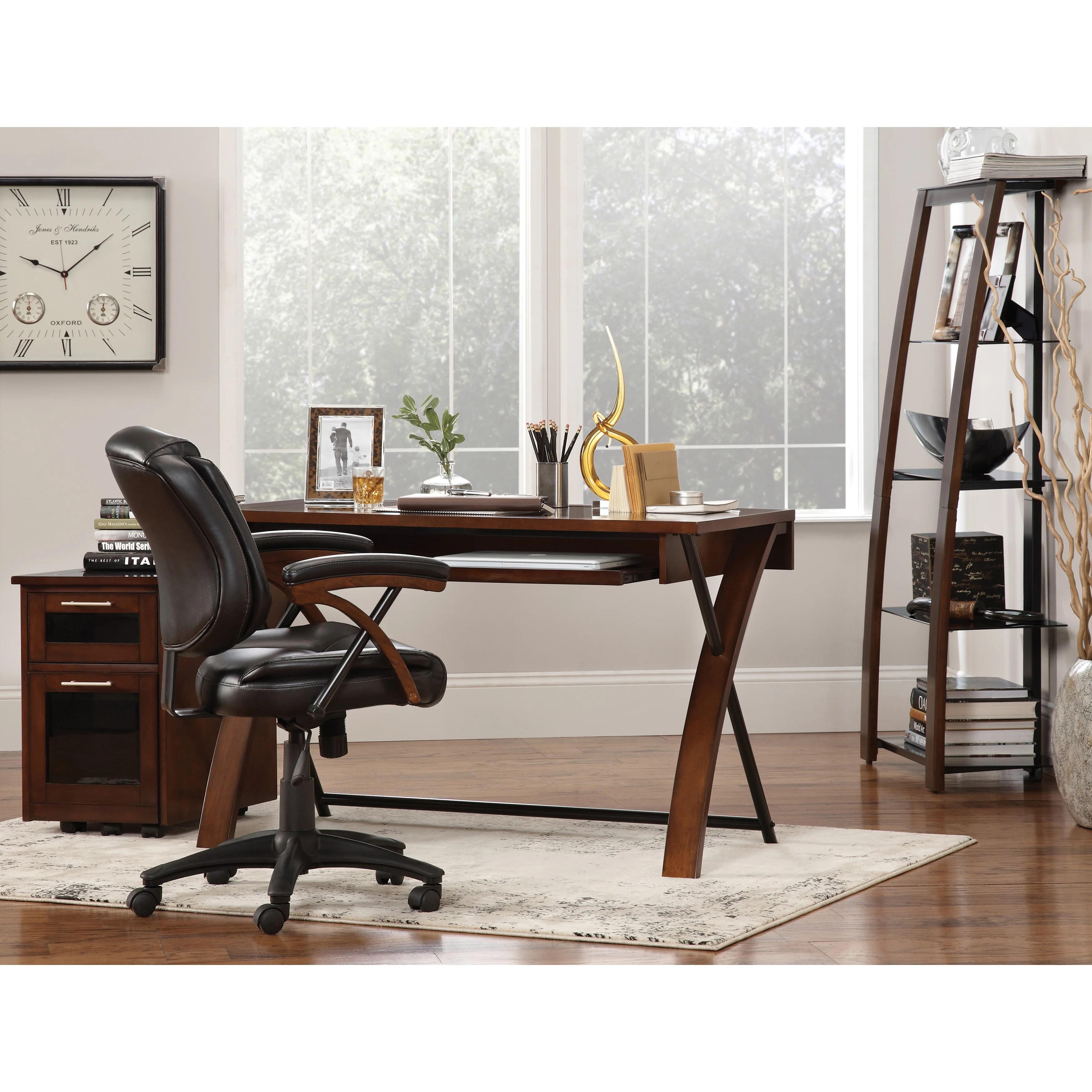 zeta desk chair steel professor shop art van free shipping today overstock com 9947381