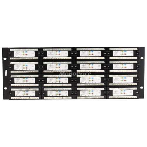 small resolution of shop monoprice 96 port cat6 patch panel 110 type 568a b compatible free shipping today overstock com 19114359