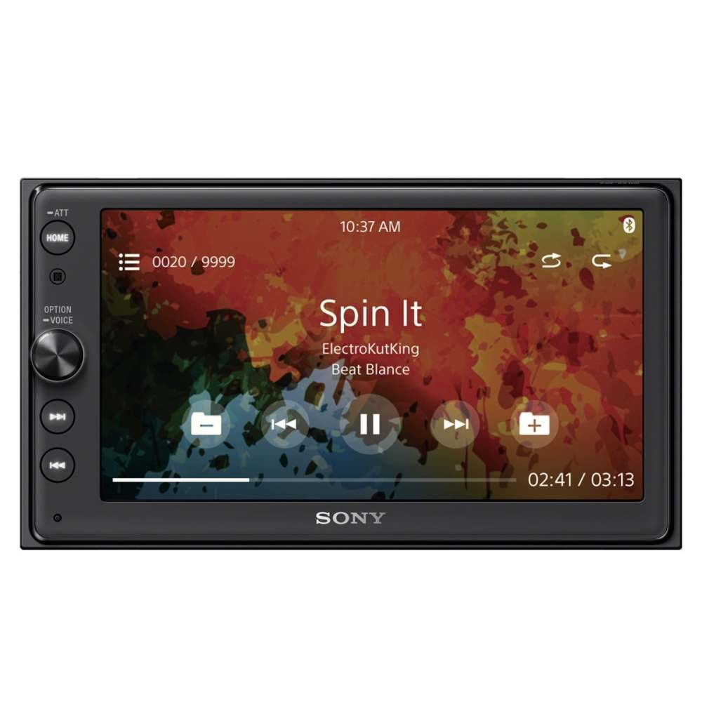 medium resolution of shop sony xav ax100 digital multimedia touchscreen receiver with apple carplay and android auto free shipping today overstock 20687799