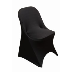 Black Chair Covers For Folding Chairs Kitchen With Casters Shop Spandex Cover Free Shipping On Orders Over 45 Overstock Com 18740326