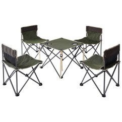 Folding Table And Chair Set Wheelchair Bedford Shop Costway Portable Chairs Outdoor Camp Beach Picnic W Carrying Bag Green On Sale Free Shipping Today Overstock Com 20461937