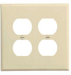 shop cooper wiring pj82la duplex receptacle wallplate 2 gang free shipping on orders over 45 overstock 28441002 [ 1000 x 1000 Pixel ]