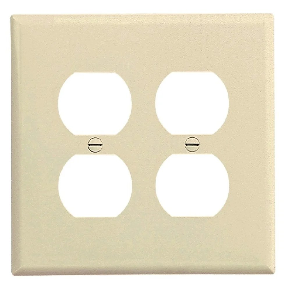 medium resolution of shop cooper wiring pj82la duplex receptacle wallplate 2 gang free shipping on orders over 45 overstock 28441002