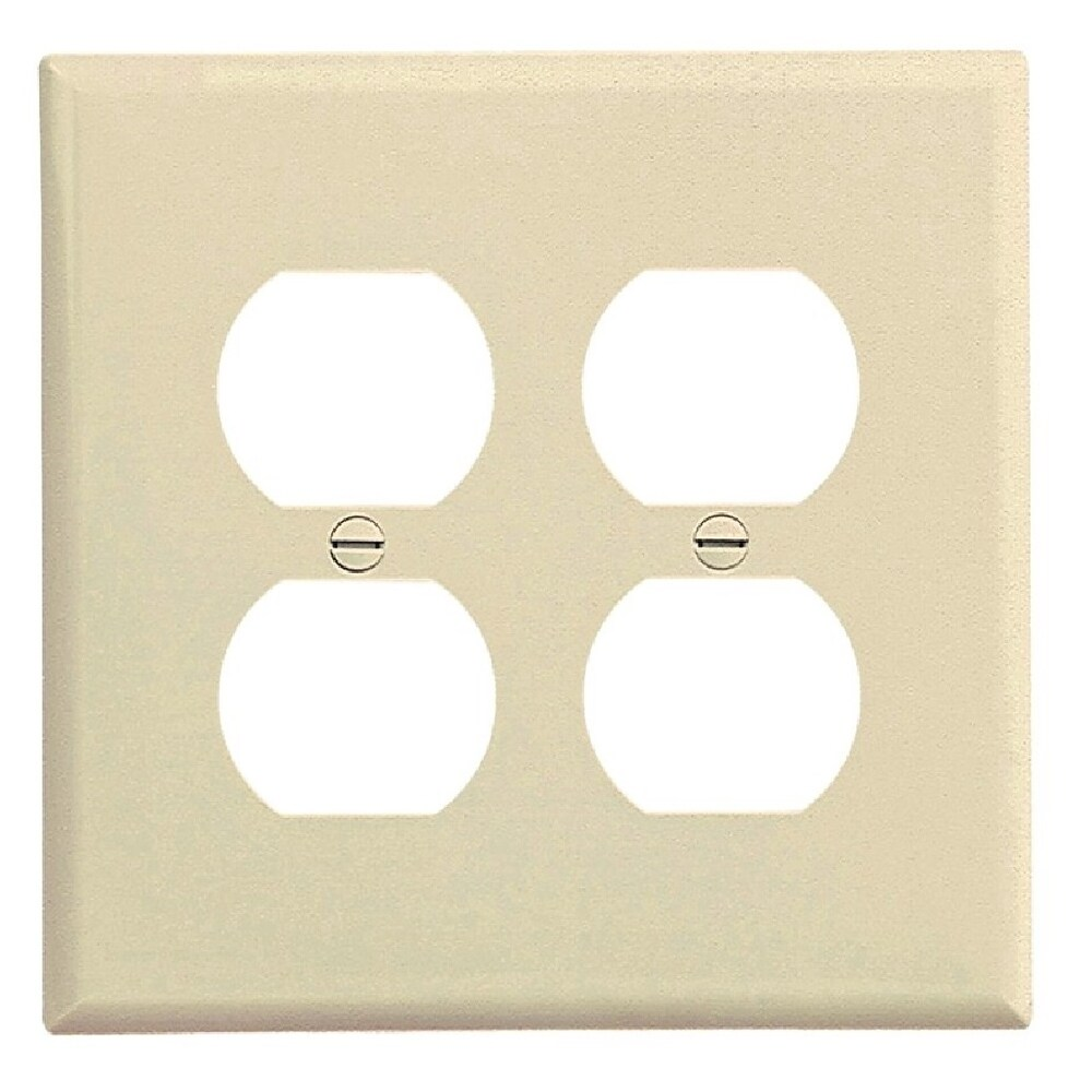 hight resolution of shop cooper wiring pj82la duplex receptacle wallplate 2 gang free shipping on orders over 45 overstock 28441002