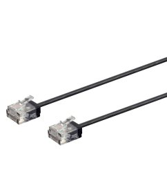 monoprice cat6 ethernet patch cable 3 feet black stranded 550mhz utp [ 900 x 900 Pixel ]
