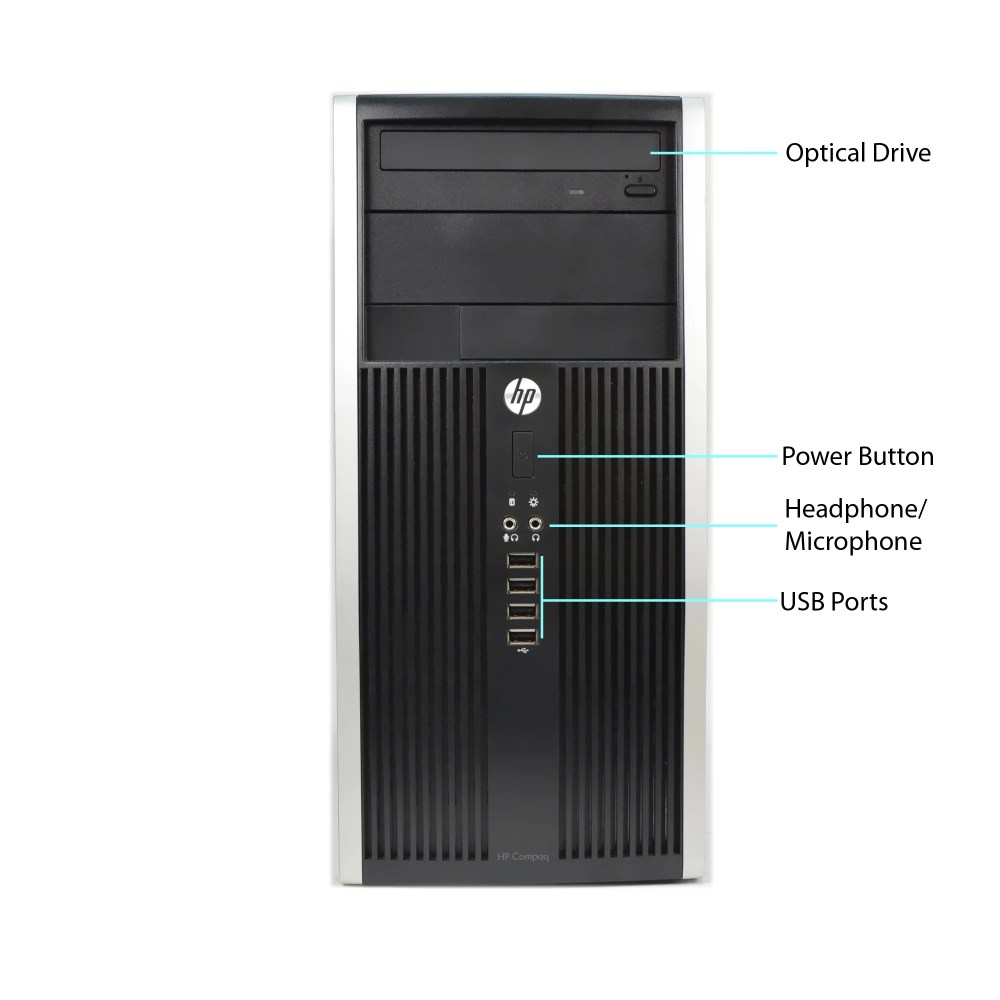 medium resolution of shop hp compaq 6300 core i5 3470 3 2ghz 8gb ram 500gb hdd dvd win 10