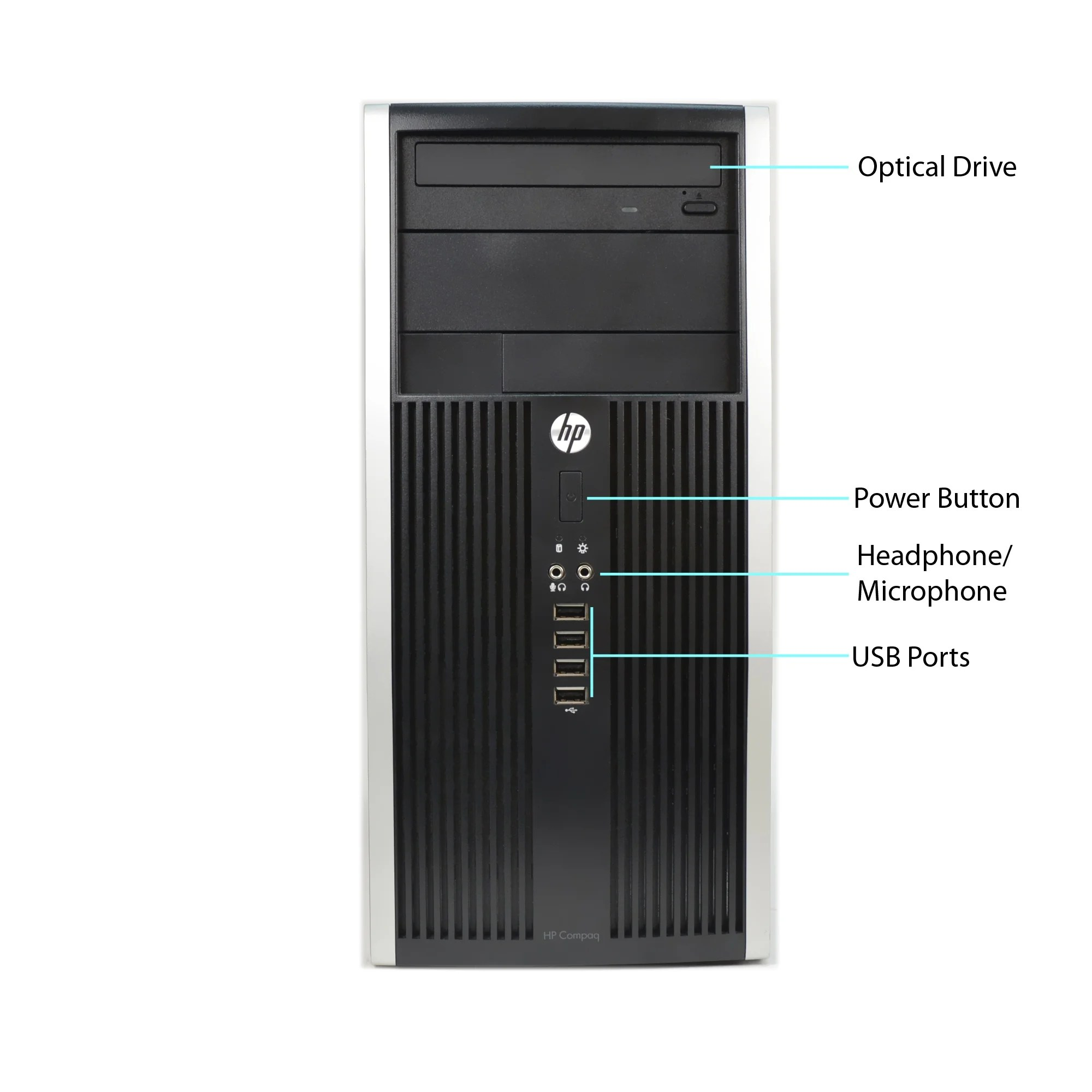 hight resolution of shop hp compaq 6300 core i5 3470 3 2ghz 8gb ram 500gb hdd dvd win 10