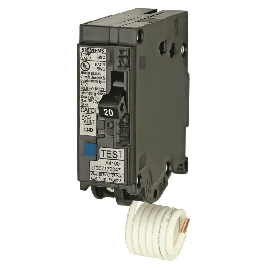 medium resolution of shop murray mpa120afc arc fault circuit interrupter breaker 20 amp free shipping today overstock 25401885
