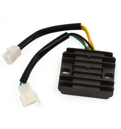 shop 6 pin motorcycle voltage wiring regulator rectifier for honda cbt 125 free shipping [ 1100 x 1100 Pixel ]