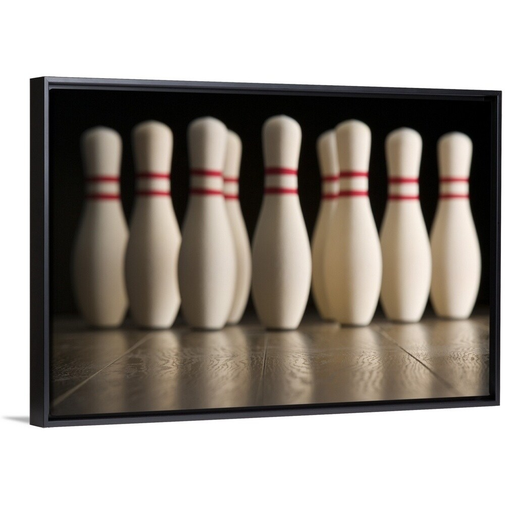 bowling pins multi color