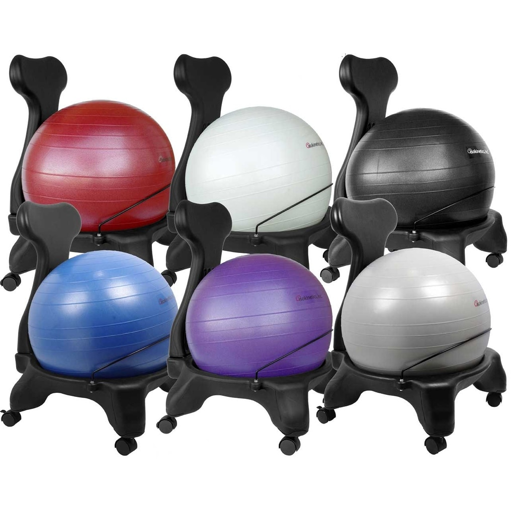 Pilates Ball Chair Isokinetics Inc Balance Exercise Ball Chair Standard Or