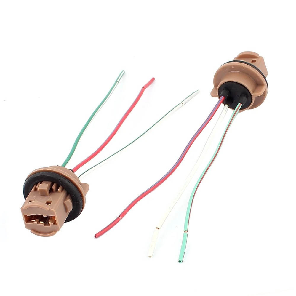 medium resolution of shop car turn signal light bulb t20 socket wiring wire harness connector 2pcs free shipping on orders over 45 overstock 18469163