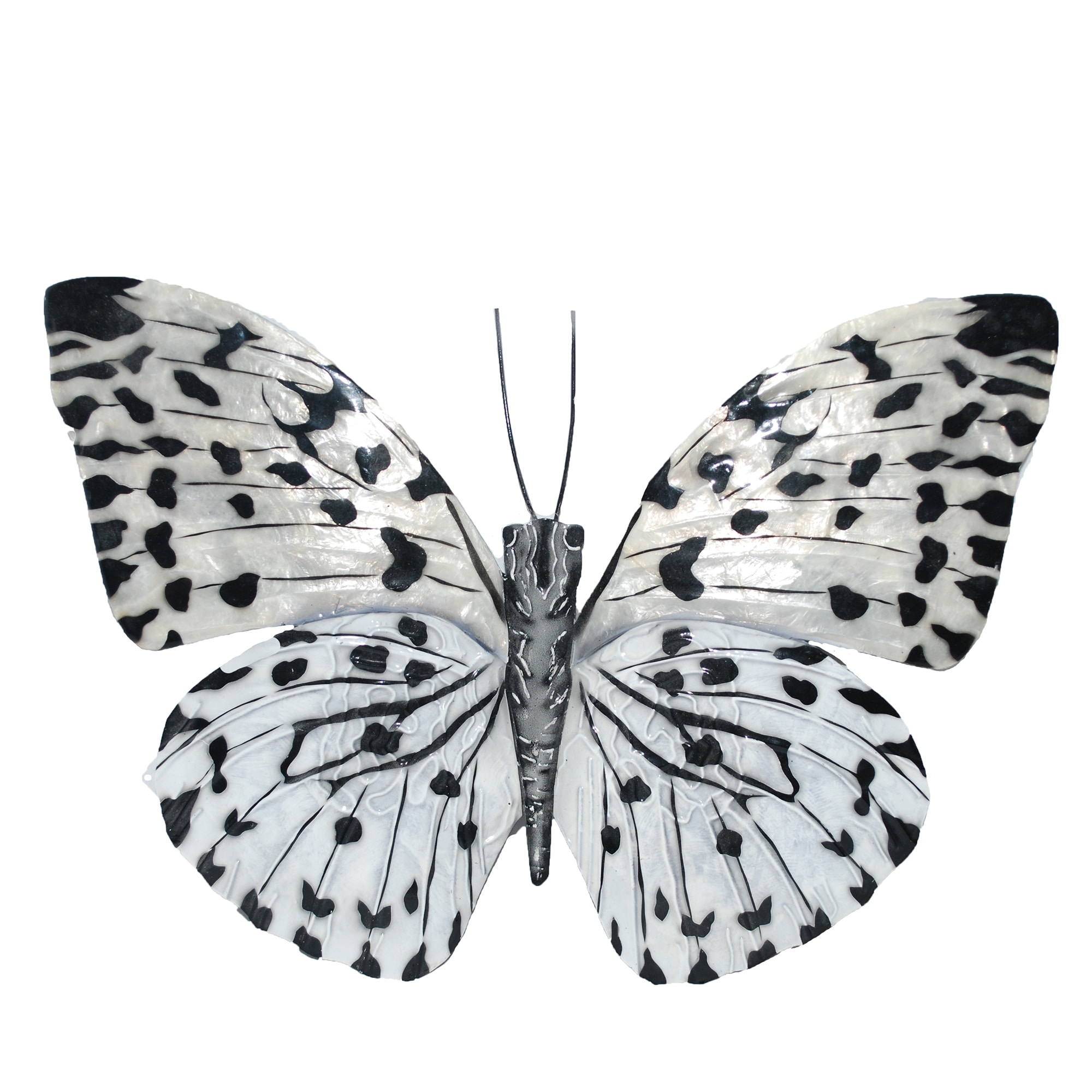 Shop Black Friday Deals On Black And White Butterfly Wall Decor Overstock 16342173