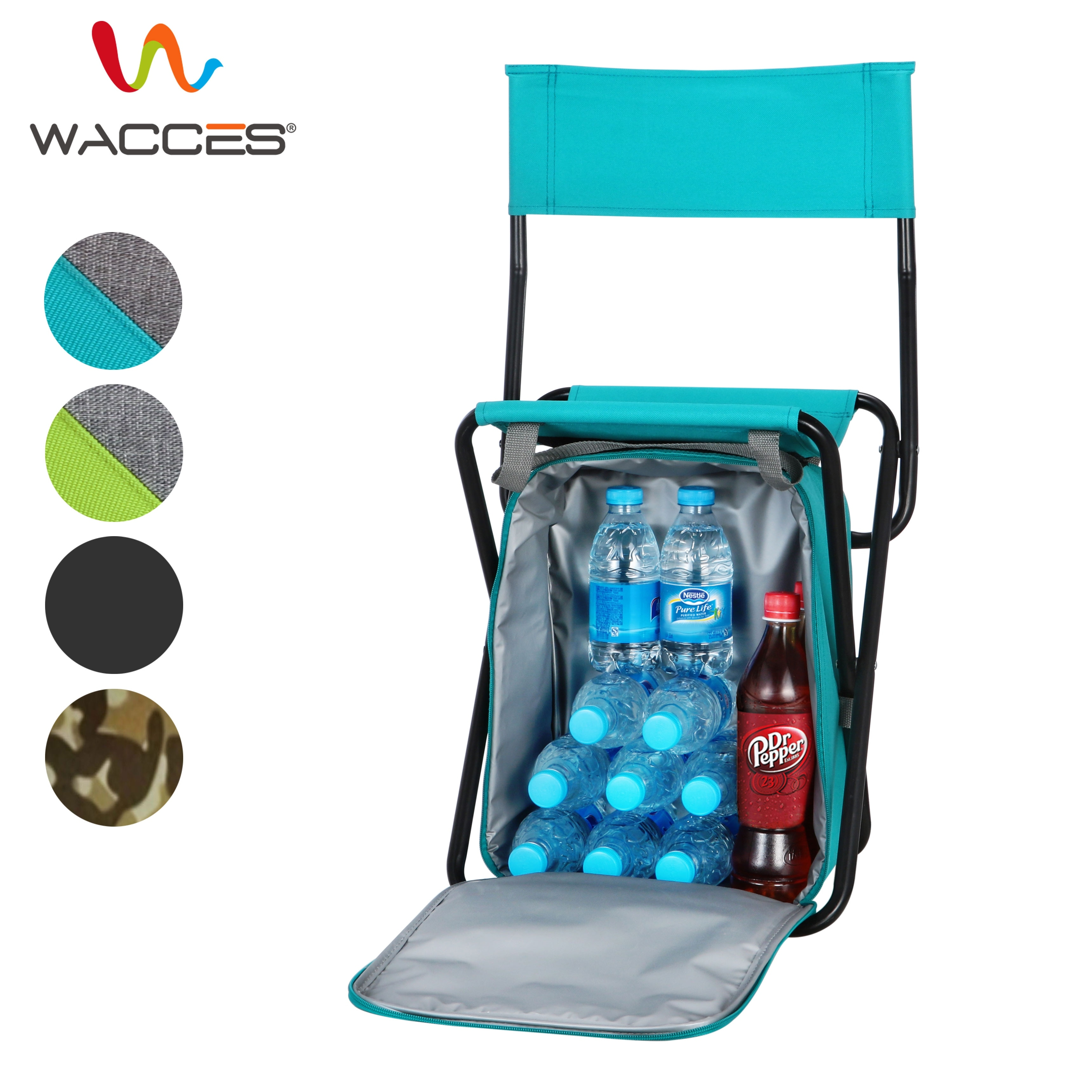 backpack cooler beach chair best nursery chairs 2018 shop wacces multi purpose portable 3 in 1 stool