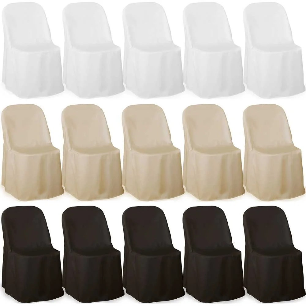 chair covers for folding chairs wedding waverly cushions shop lann s linens 100 elegant party polyester cloth multiple colors free shipping today overstock com 20164783