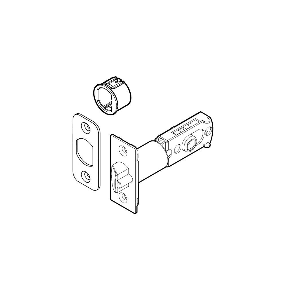 hight resolution of shop kwikset 83000 6 way adjustable deadlatch for the 150 series kwikset levers n a free shipping on orders over 45 overstock com 16318251
