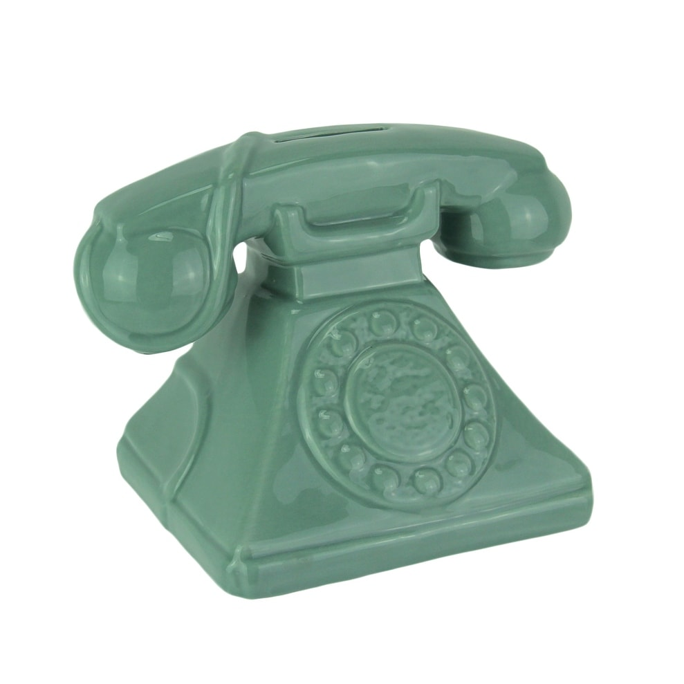 medium resolution of shop money talks vintage rotary phone ceramic coin bank 4 75 x 6 5 x 4 25 inches free shipping on orders over 45 overstock 22127956