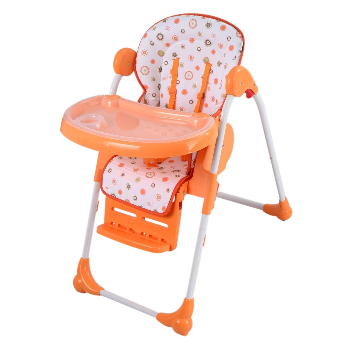 booster seat or high chair which is better knoll dining chairs shop adjustable baby infant toddler feeding folding orange free shipping today overstock com 18512996