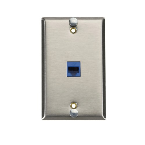 small resolution of shop black box network services cat6 voip wall phone jack free shipping today overstock com 21467874