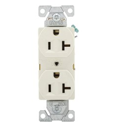shop cooper wiring br20la commercial grade duplex receptacle 20 amp free shipping on orders over 45 overstock 28441142 [ 1000 x 1000 Pixel ]