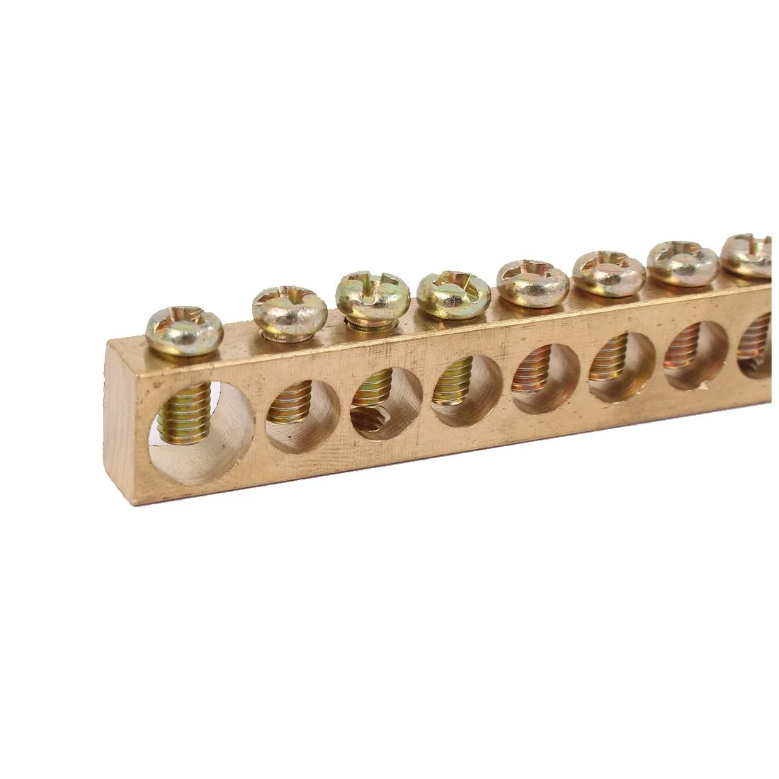 hight resolution of 10 positions distribution cabinet box wire terminal ground copper neutral bar