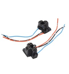 shop 2pcs plastic 3 terminal car h4 headlight fog lamp bulb wiring harness socket on sale free shipping on orders over 45 overstock 17597655 [ 1100 x 1100 Pixel ]